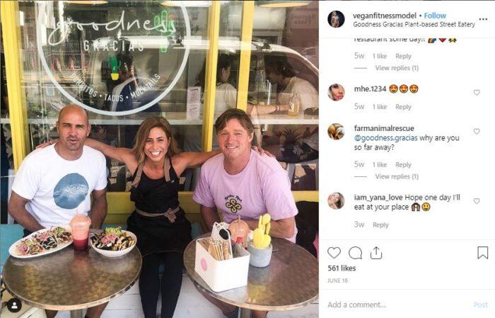 best vegan fitness instagram account