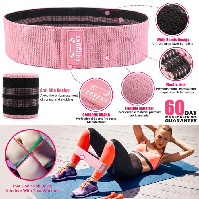 best resistance bands for glutes coobon band