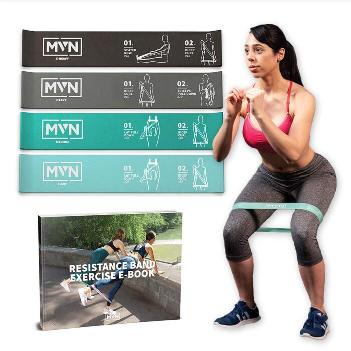 MVN resistance bands for glutes