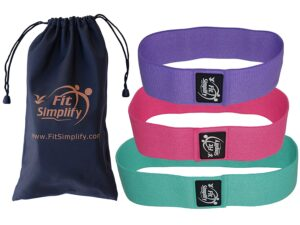 fit simplify best resistance bands for glutes