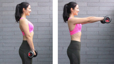 How to do front raises